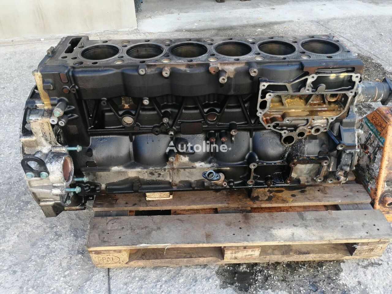 блок цилиндров MAN D2676LF52 Euro6 Nowy EURO 6 D2676 LF 52 Euro 6 для грузовика MAN TGX