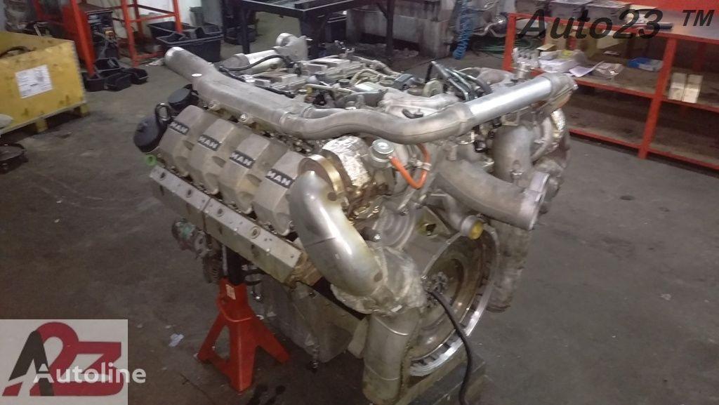 двигатель LIEBHERR V8 Euro5 680km MAN V8 (D2868LF) для автокрана